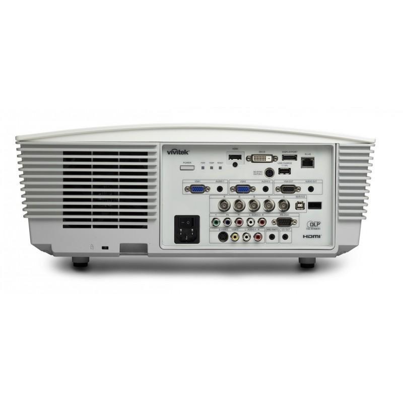 Proyector Vivitek D5010WNL - Conectividad